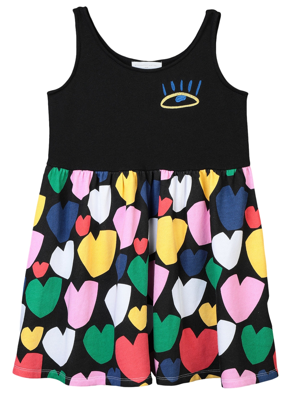 Stella McCartney Rainbow Hearts Dress