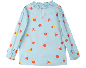 Stella McCartney Flower Stickers Blouse