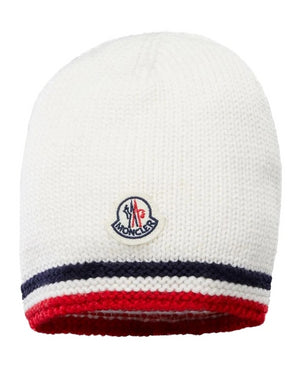 Moncler A9179 Striped Baby Hat