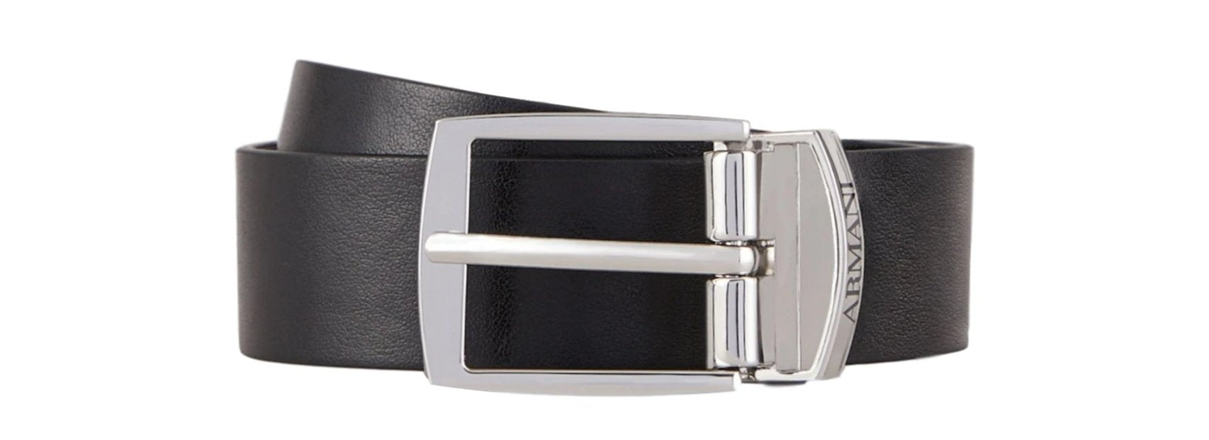 Armani Junior Reversible Buckle Belt