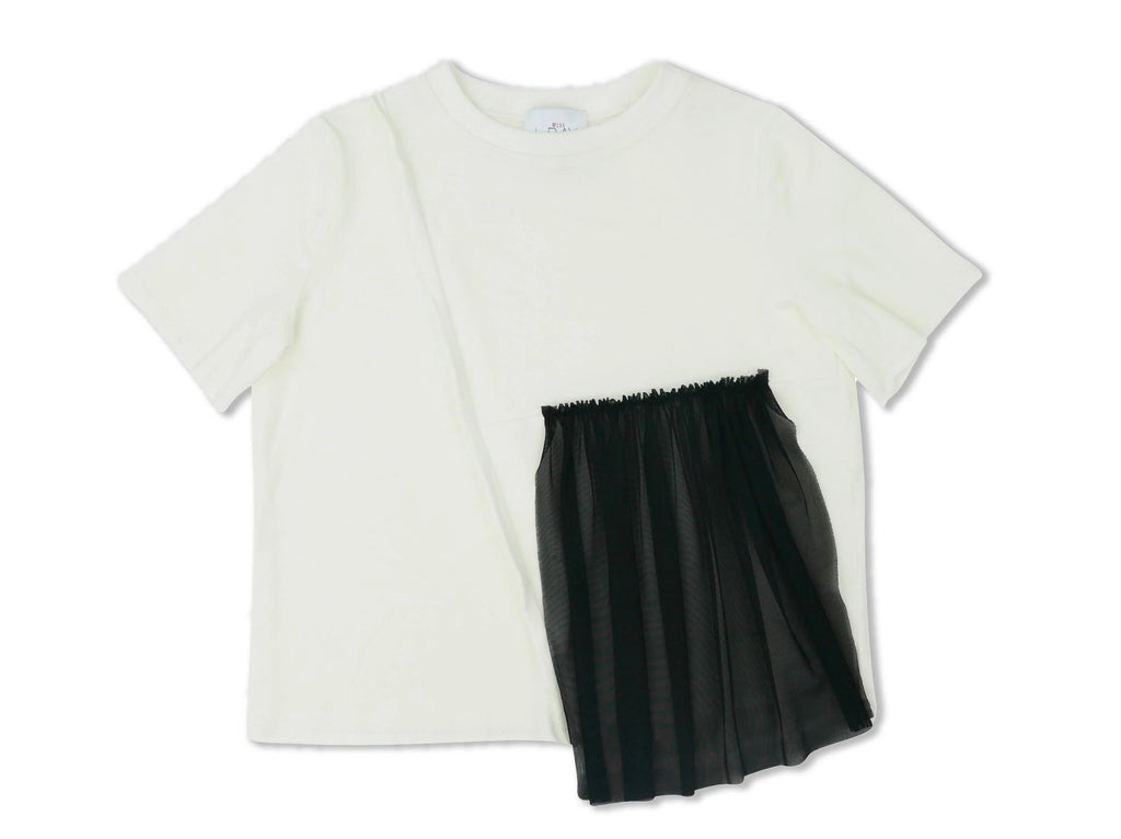Miss L.Ray Jersey June Tulle Top