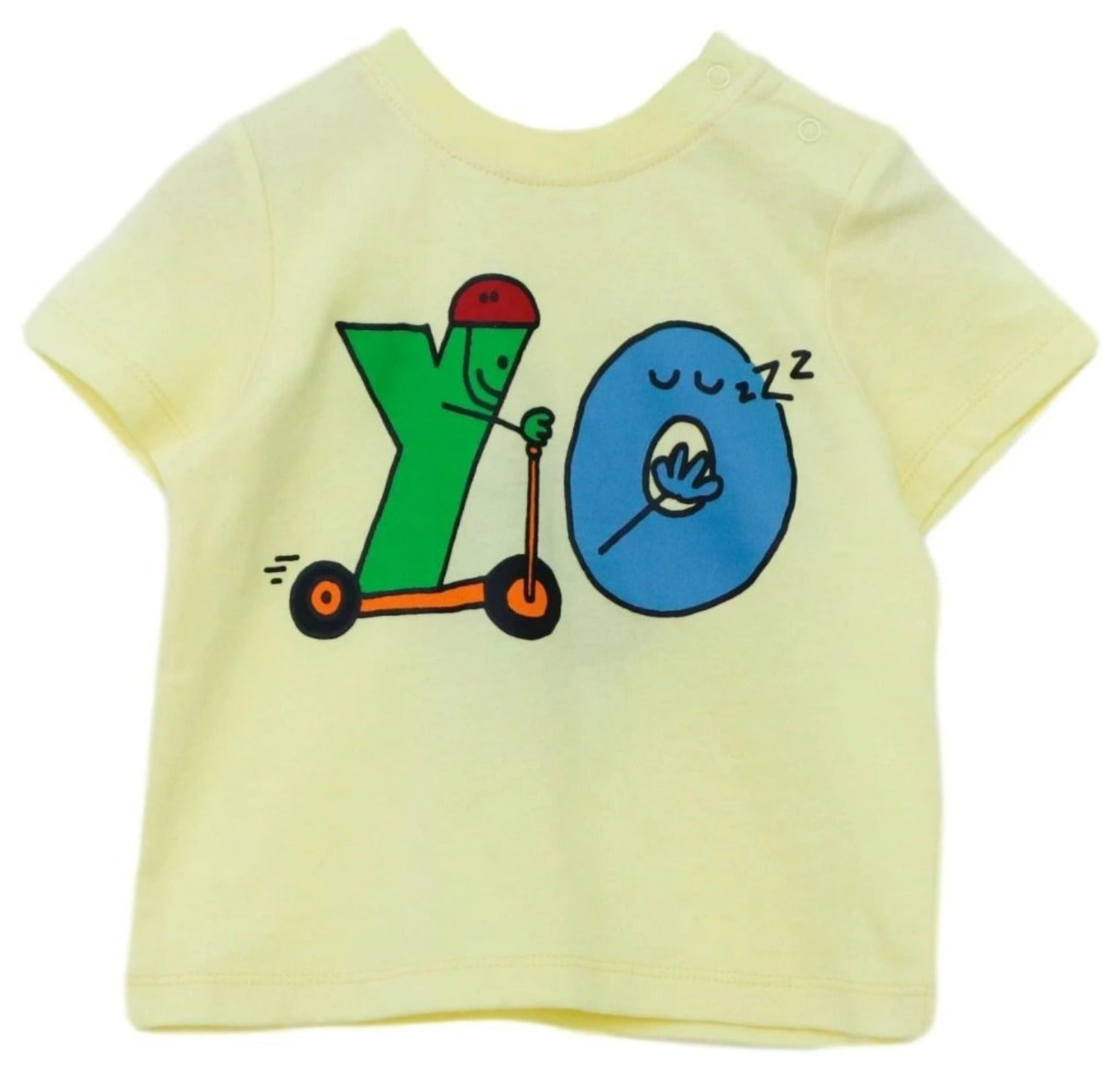 "Stella McCartney Baby ""YO"" Alphabet T-Shirt"