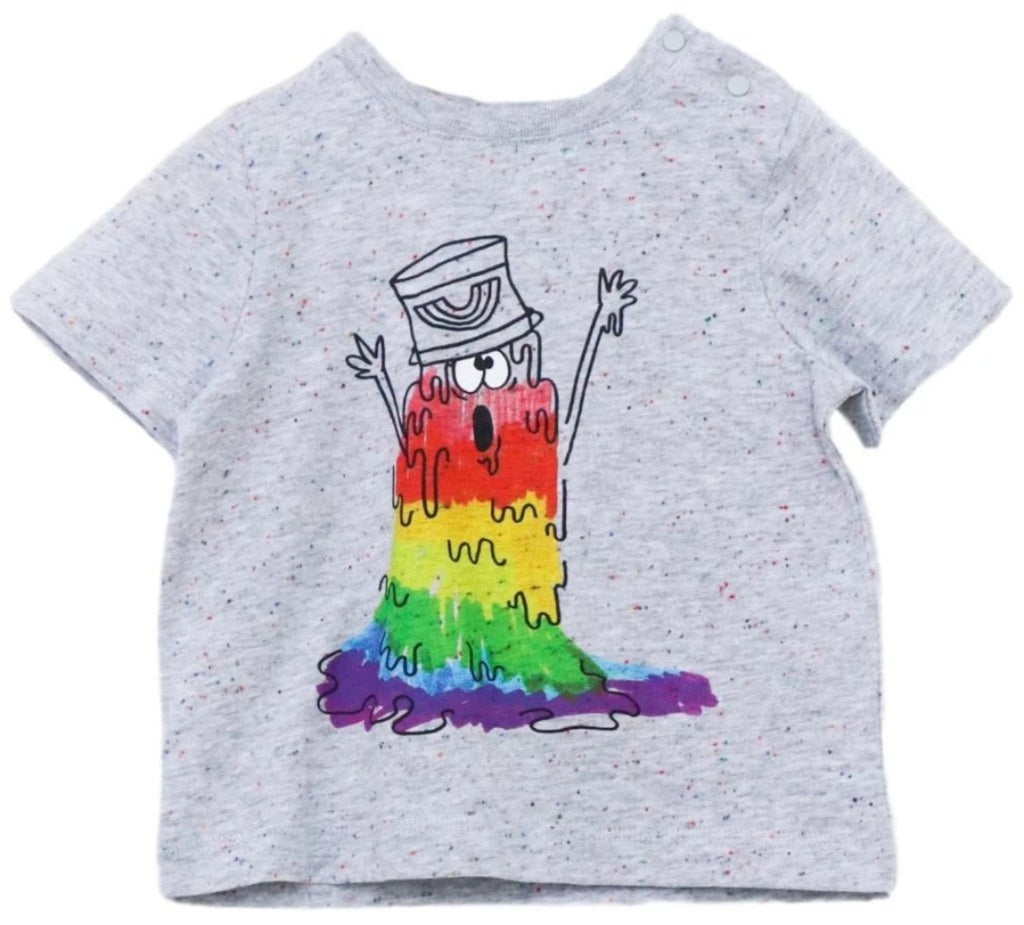 Stella McCartney Baby Rainbow Monster T-Shirt