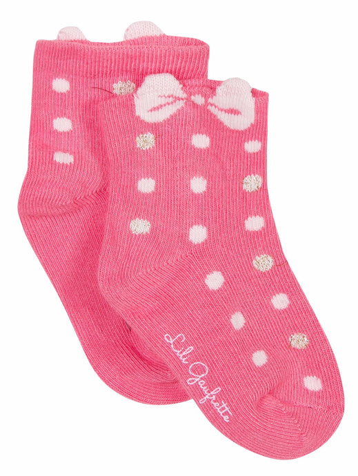 Lili Gaufrette Laura Dotted Socks
