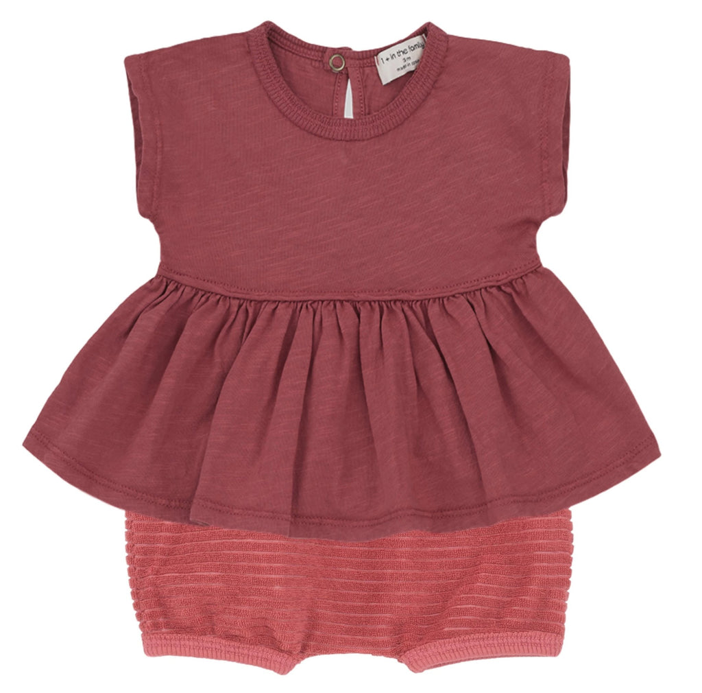 One + In the Family Baby Girl Ponza & Alghero Outfit Set