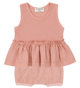 One + In the Family Baby Girl Leuca & Alghero Outfit Set