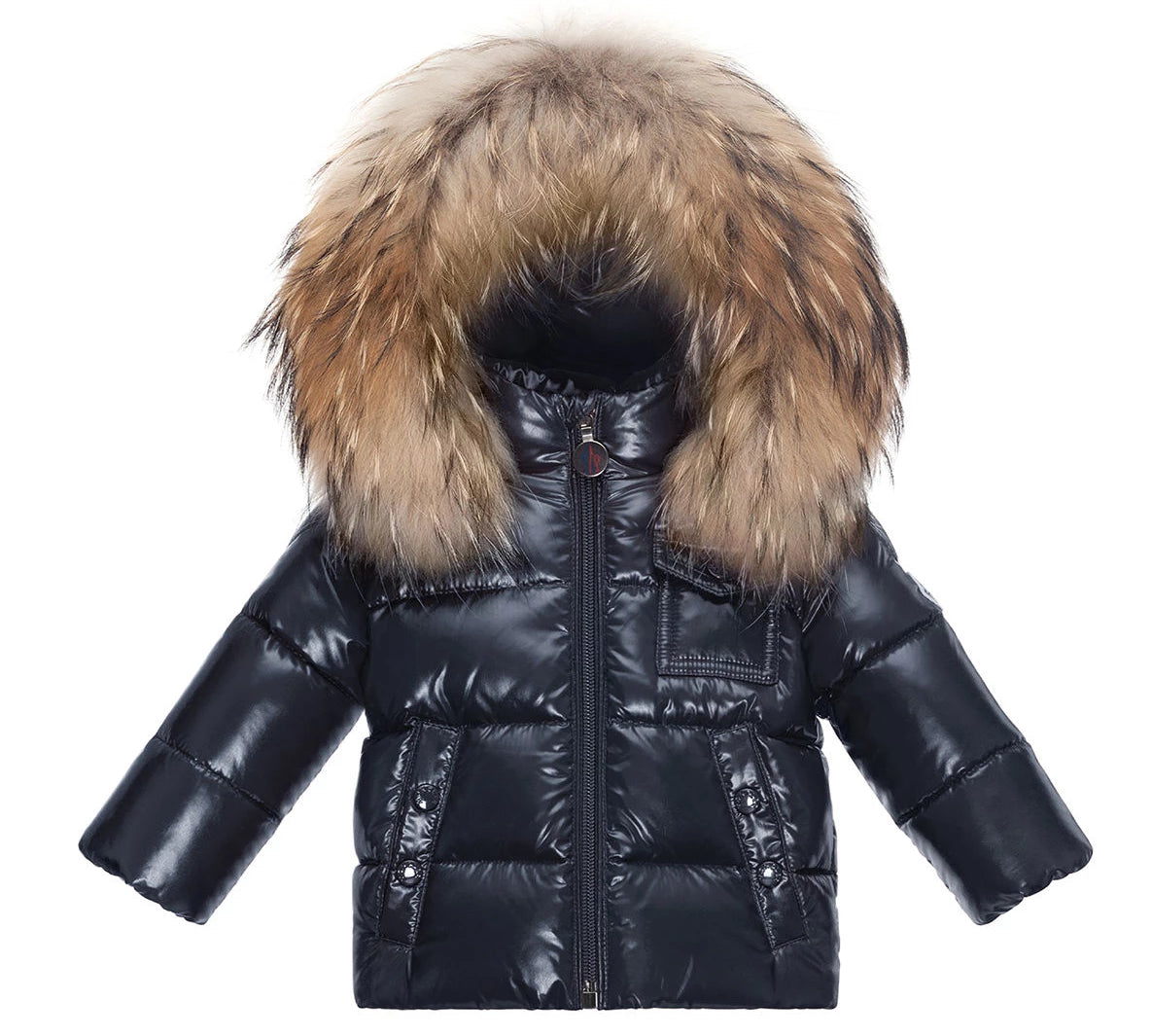 Moncler K2 Fur Trim Hood Laque Jacket