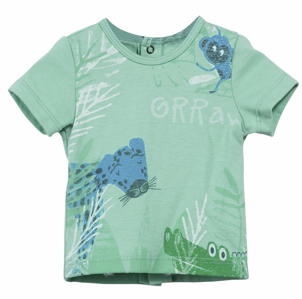 CI60Q-05-CJ10061 Forest Scene Short Sleeve T-Shirt