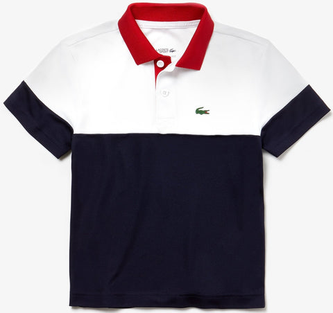 Lacoste DJ5370 Poly Colorblock Polo