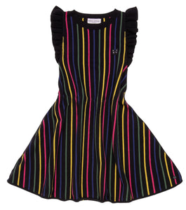 "Sonia Rykiel Edelweiss Ruffle Shoulder ""Mini Me"" Knit Dress"