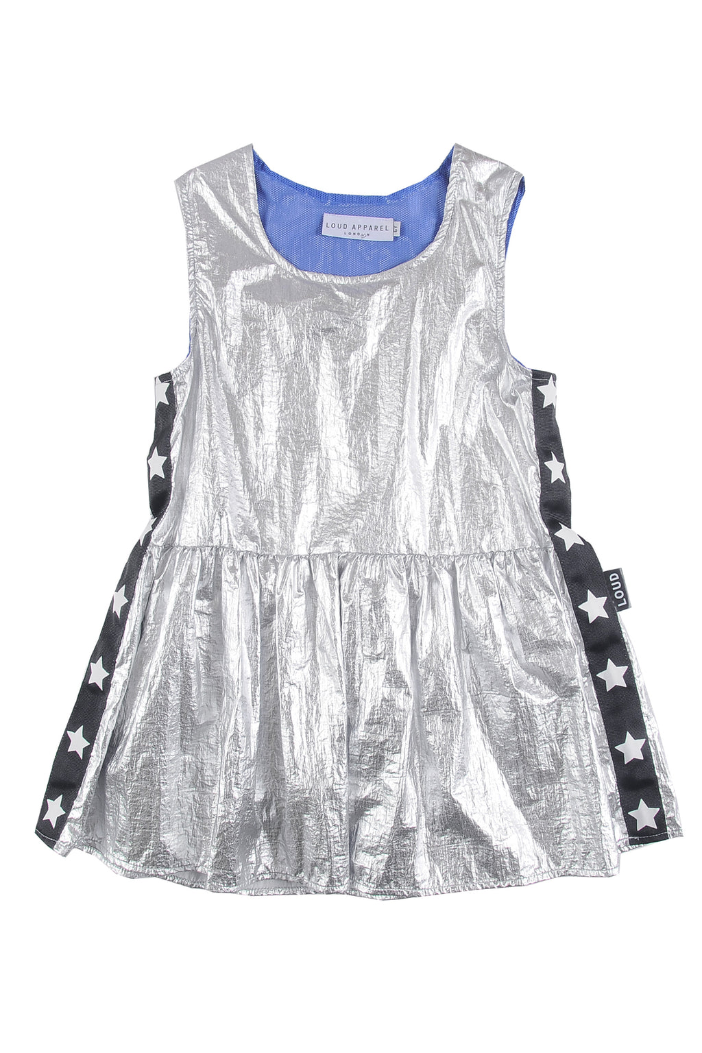 Loud Apparel Dance Metallic Dress