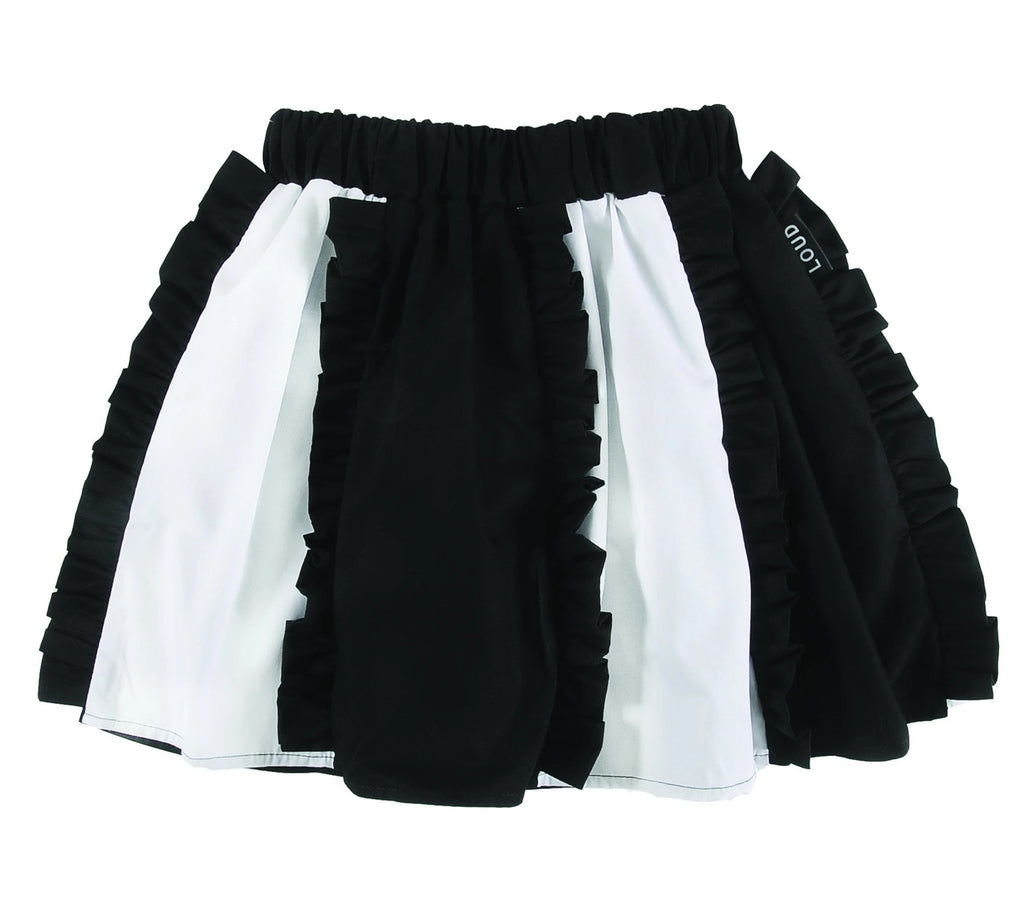 Loud Apparel Merry Ruffle Tiered Skirt