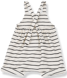One + In the Family Geri Striped Overall