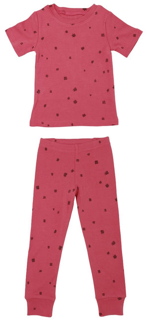 L'Oved Baby KOR345 Organic Long Sleeve PJ Set