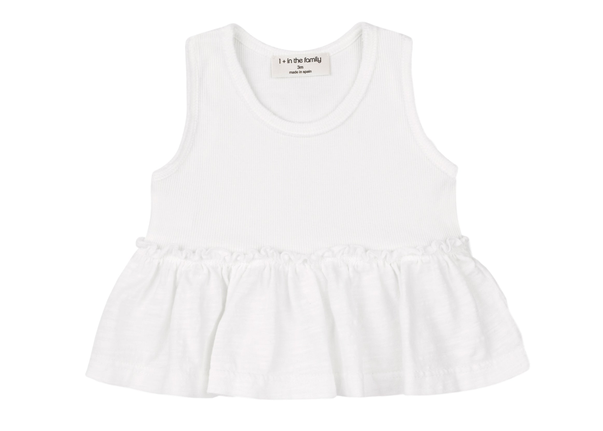 One + In the Family Baby Girl Leuca & Calais Outfit Set