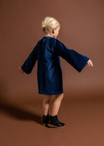 Omami Mini OM298 Velvet Dress with Foxes