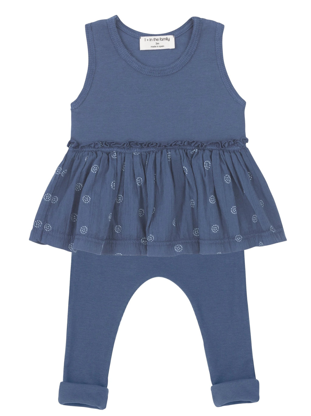 One + In the Family Baby Girl Barletta & Marti Outfit Set