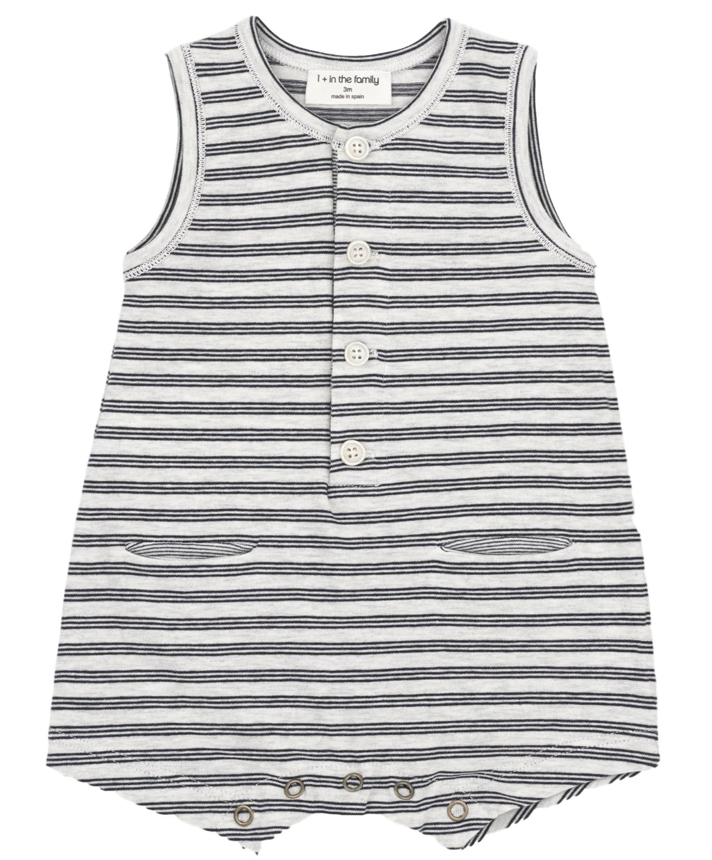 One + In the Family Baby Boy Maxime Romper