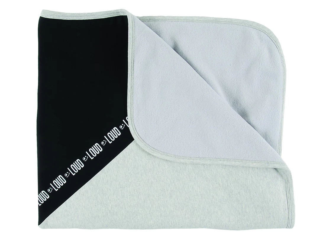 Loud Apparel Sleepy 2 Tone Blanket