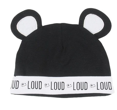 Loud Apparel Soft Bear Ear Hat
