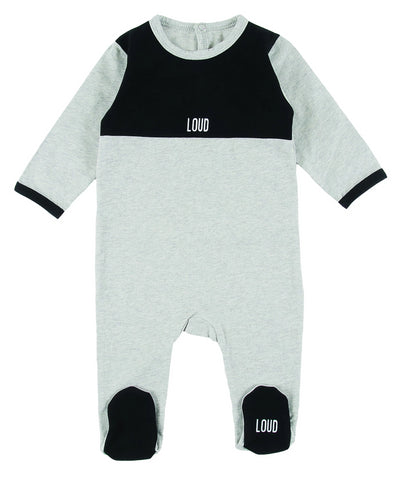 Loud Apparel Tiny 2 Tone Logo Onesie