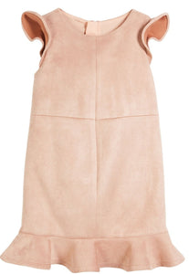 Milly Minis SU013949 Stretch Suede Panel Dress