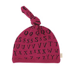 L'Oved Baby OR314 Letters Top Knot Hat