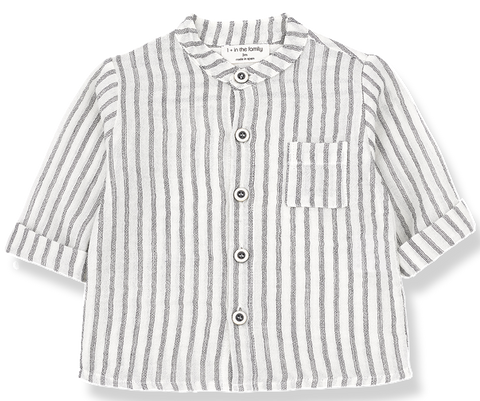 One + In the Family Oskar Striped Shirt