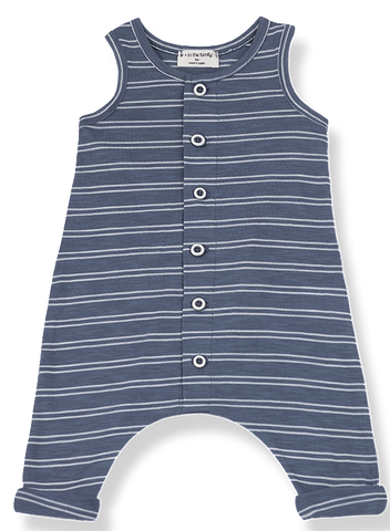 One + In the Family Piet Stripe Overall