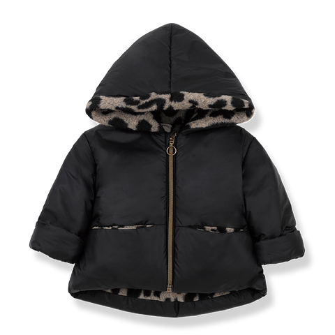 One + In the Family Regina Hooded Jacket