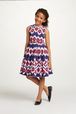 OR60Q-03-S172C641 Coton Gathered Skirt Party Dress