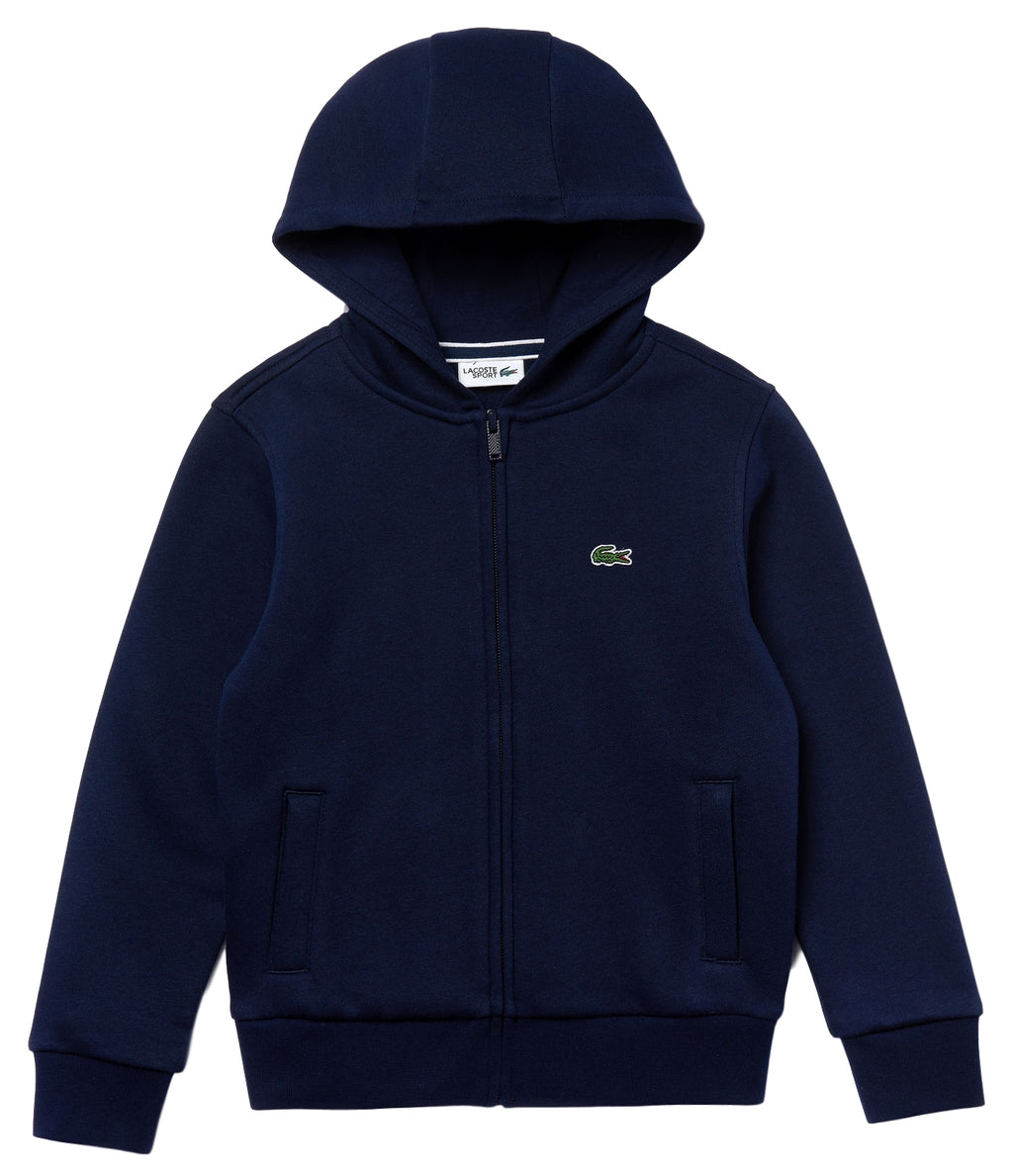 Lacoste Full-Zip Fleece Sweater