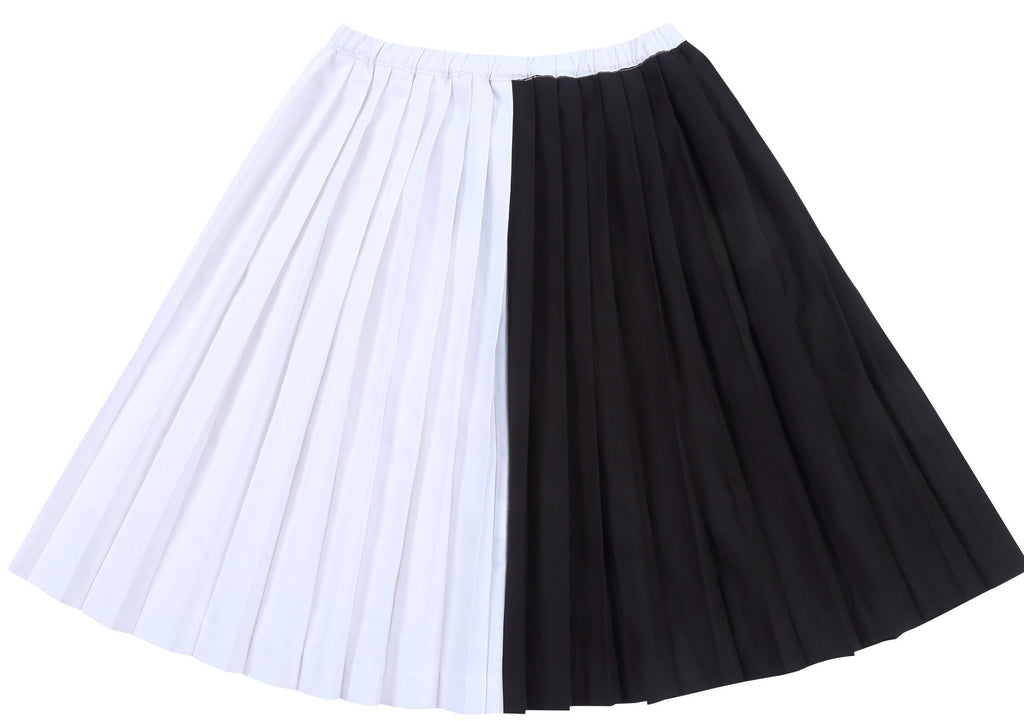 Petit Clair PCG-SKR57 2 Tone Pleated Skirt