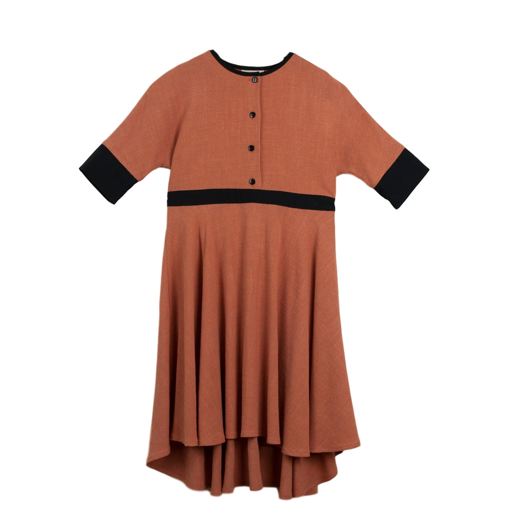 Popelin Mod.24.2 Cape Style Dress