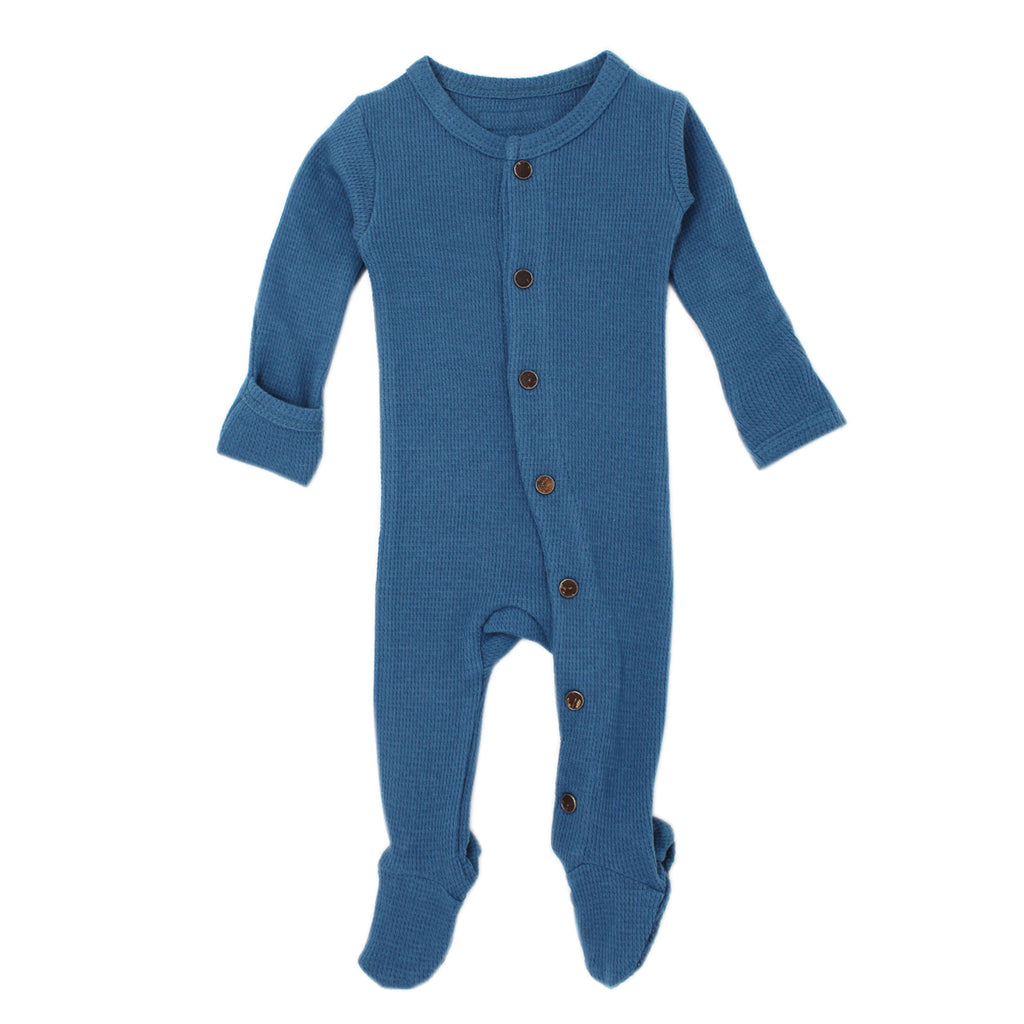 L'Oved Baby T444 Thermal Organic Footed Overall