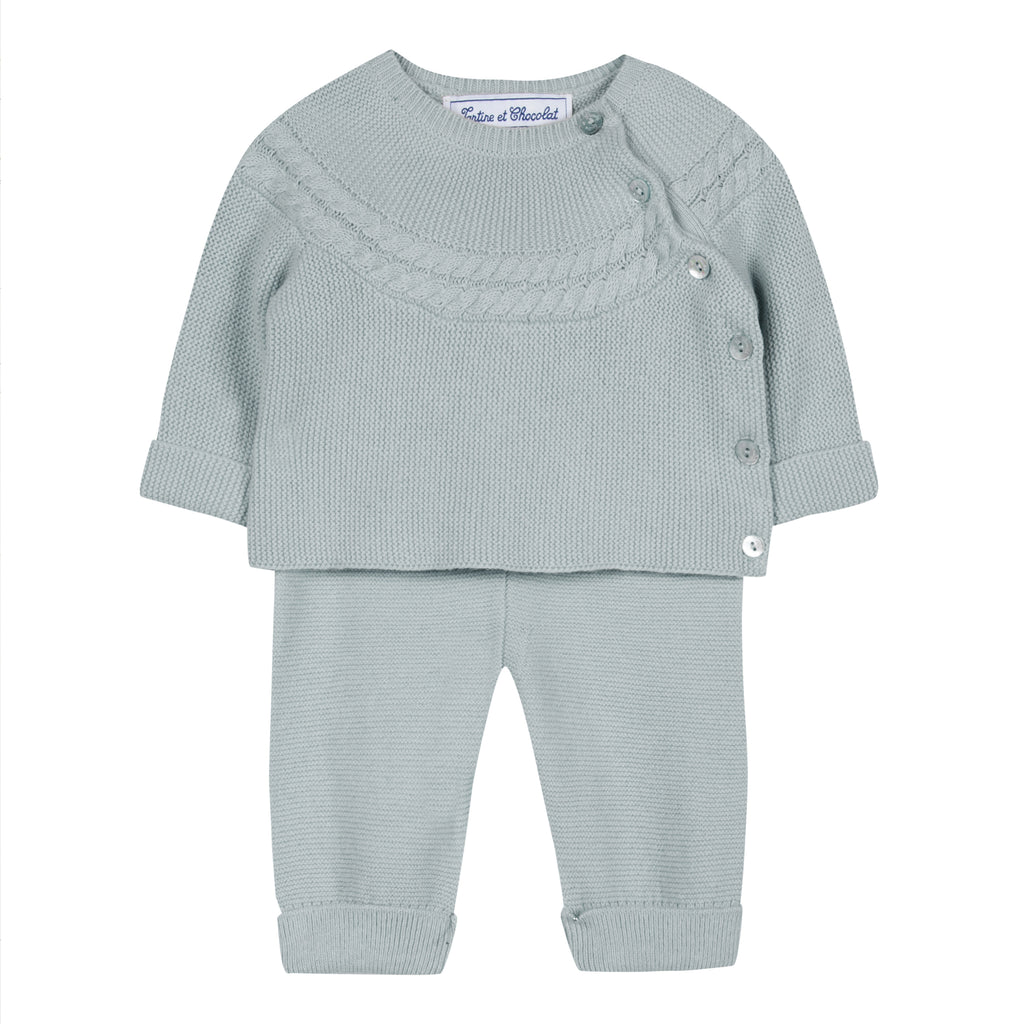 Tartine Ensemblelong3 2pc Knit Set