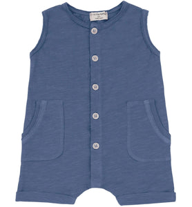 One + In the Family Baby Boy Troia Romper