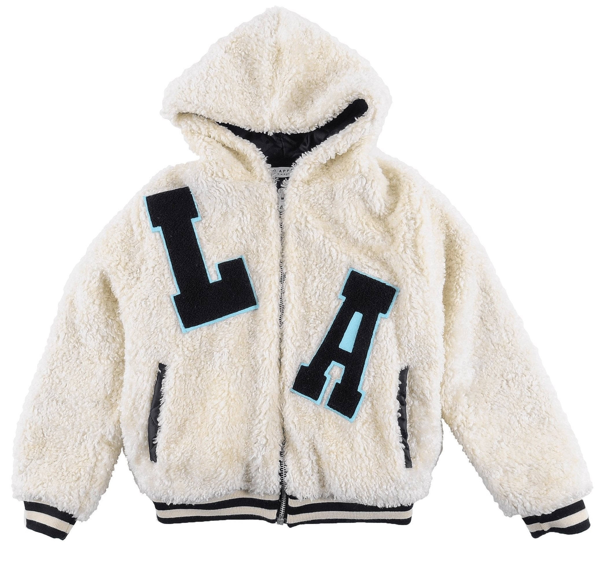Loud Apparel UBJ01 DROP Hooded Bomber Jacket