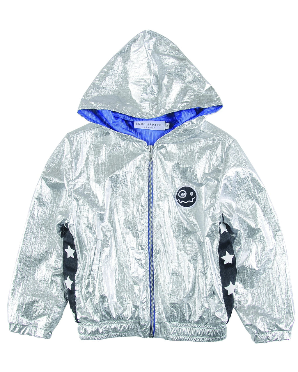 Loud Apparel Welly Metallic Windbreaker