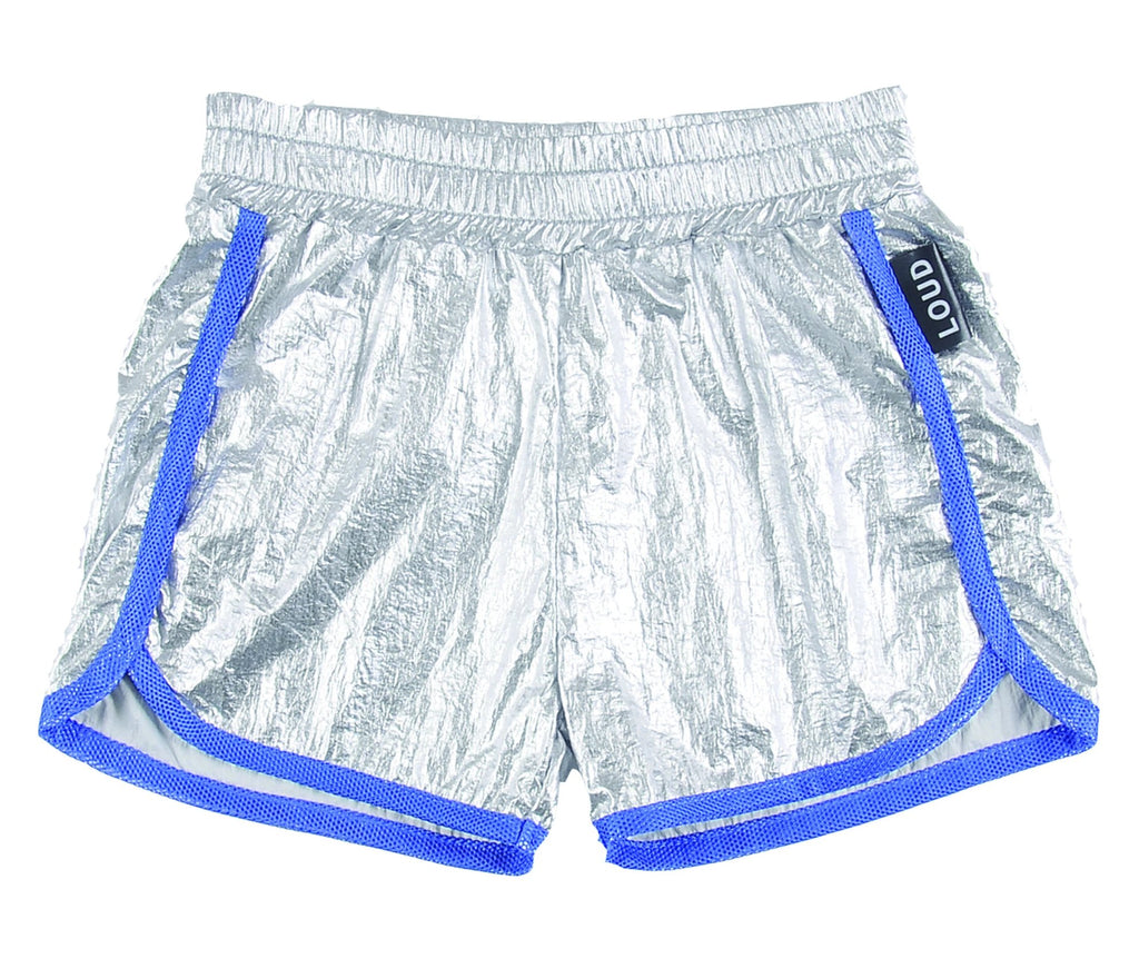 Loud Apparel Toy Metallic Shorts