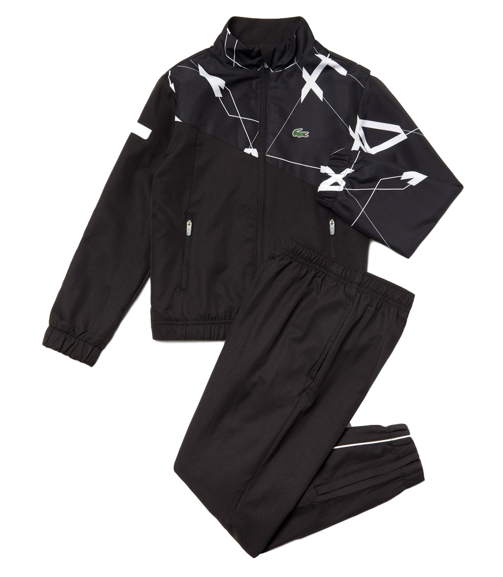 Lacoste WJ9485 Graphic Tennis Tracksuit
