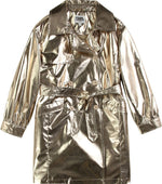 Karl Lagerfeld Girl's Trench Coat