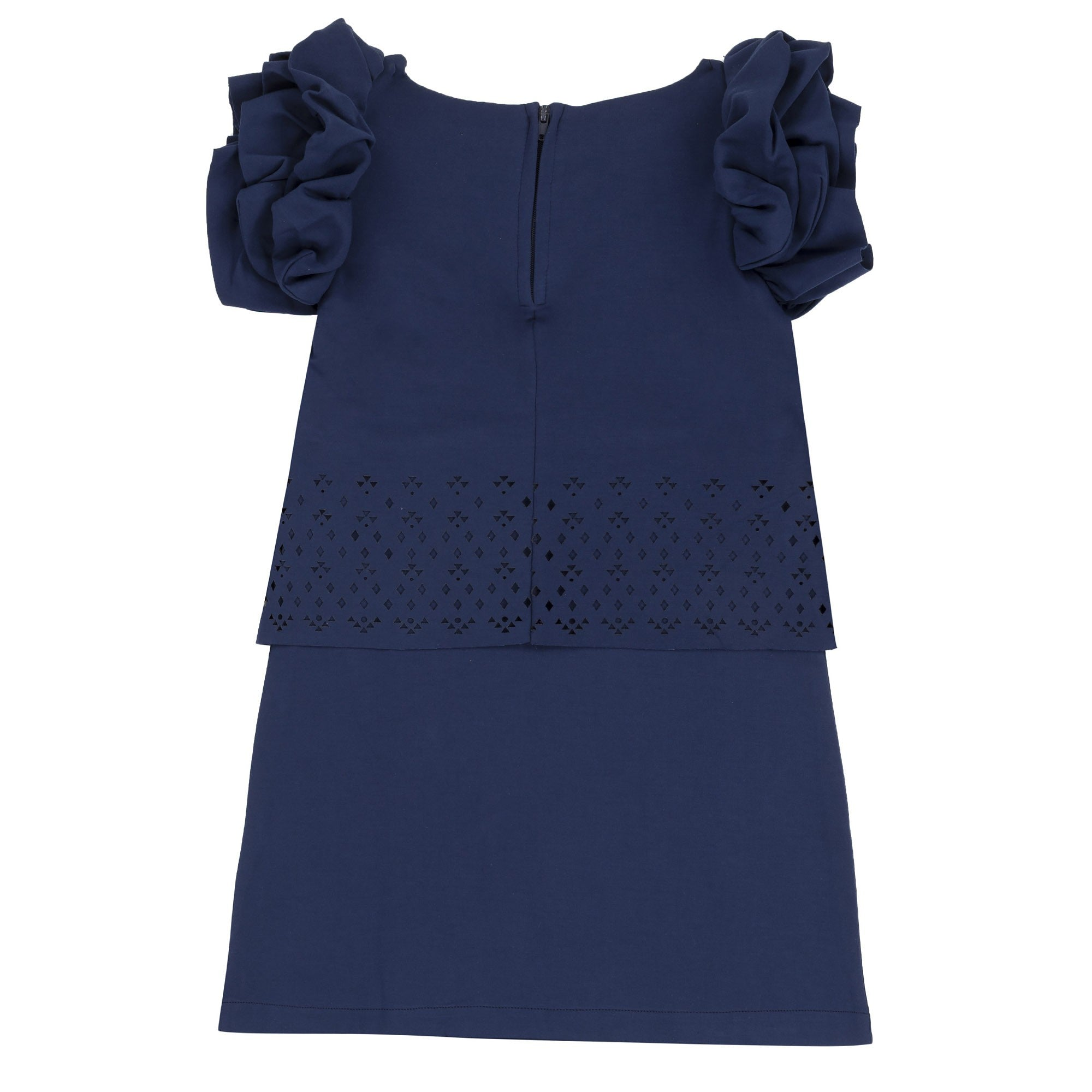 Deux par Deux O98 Laser Cut Milano Dress