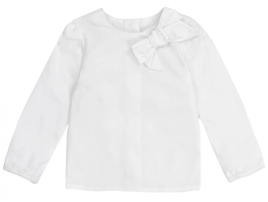 Deux par Deux M10 Blouse with Bow