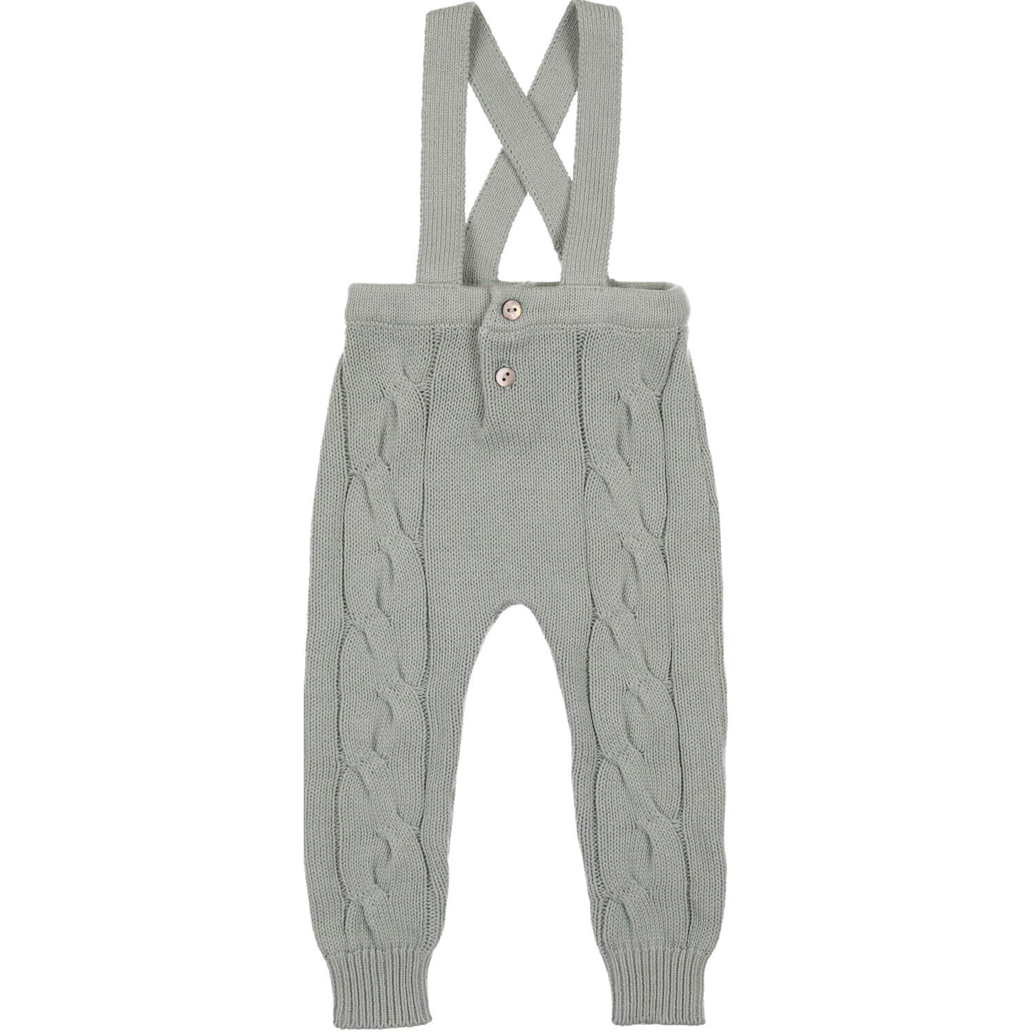 Coco Blanc Cabled Long Romper