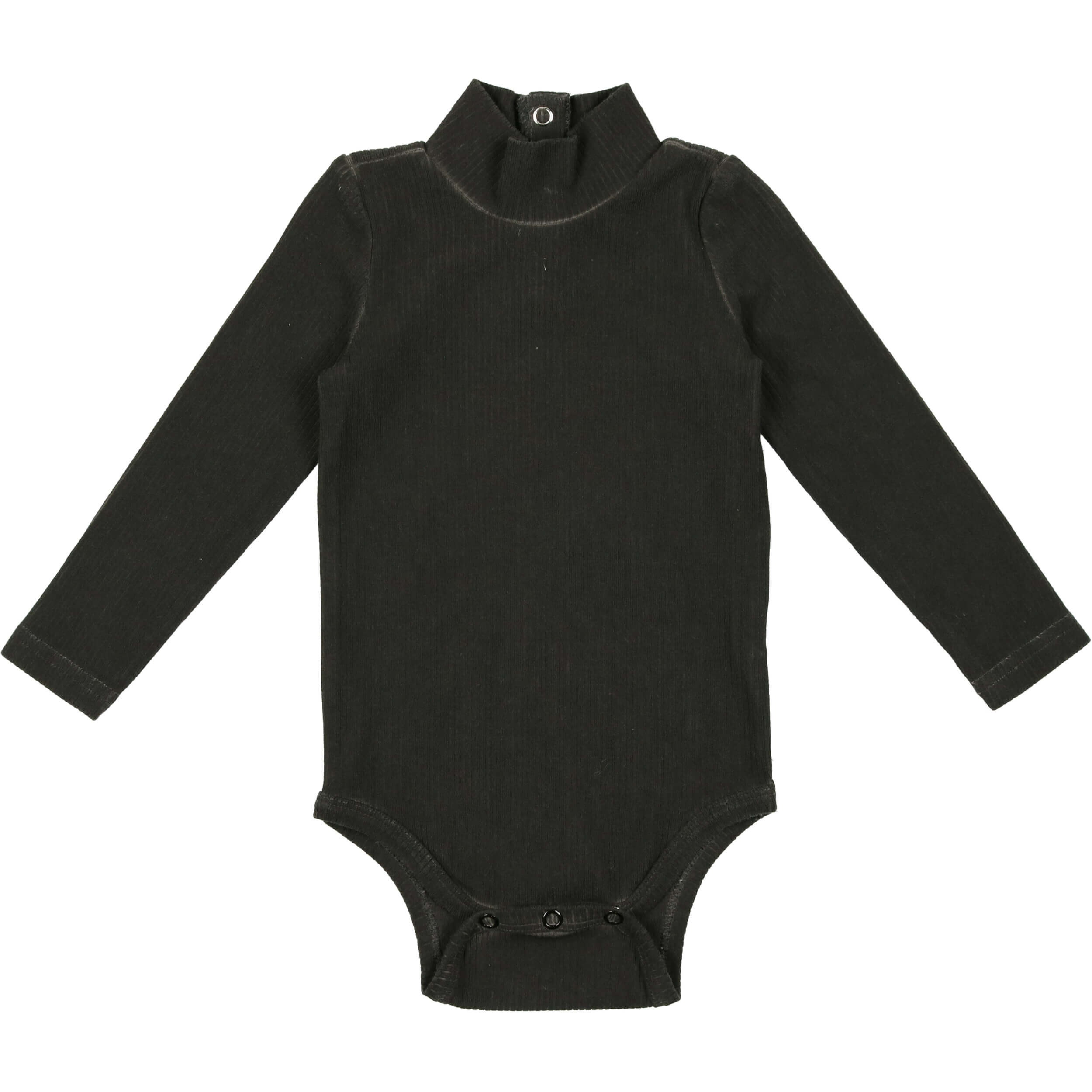 Coco Blanc Ribbed Turtle Onesie