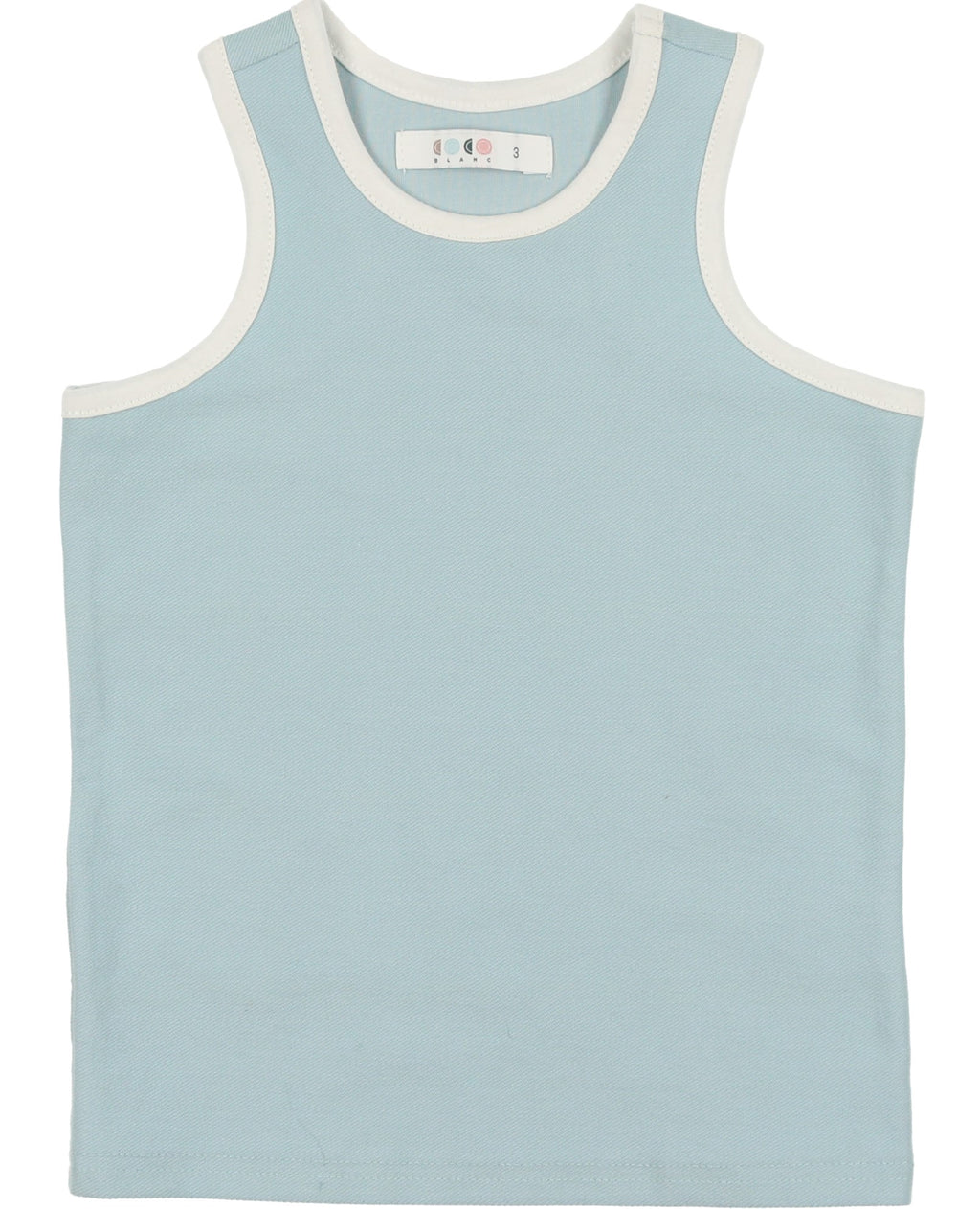 Coco Blanc Boy's French Terry Tank