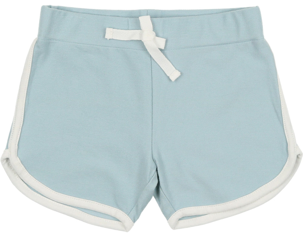 Coco Blanc Boy's French Terry Biker Shorts