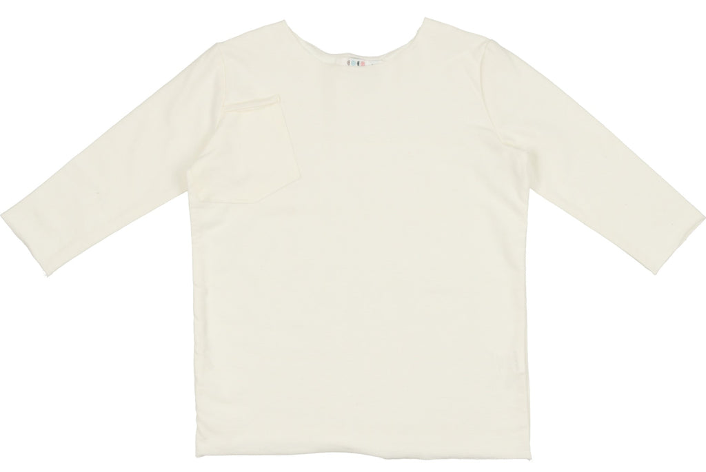 Coco Blanc French Terry T-Shirt