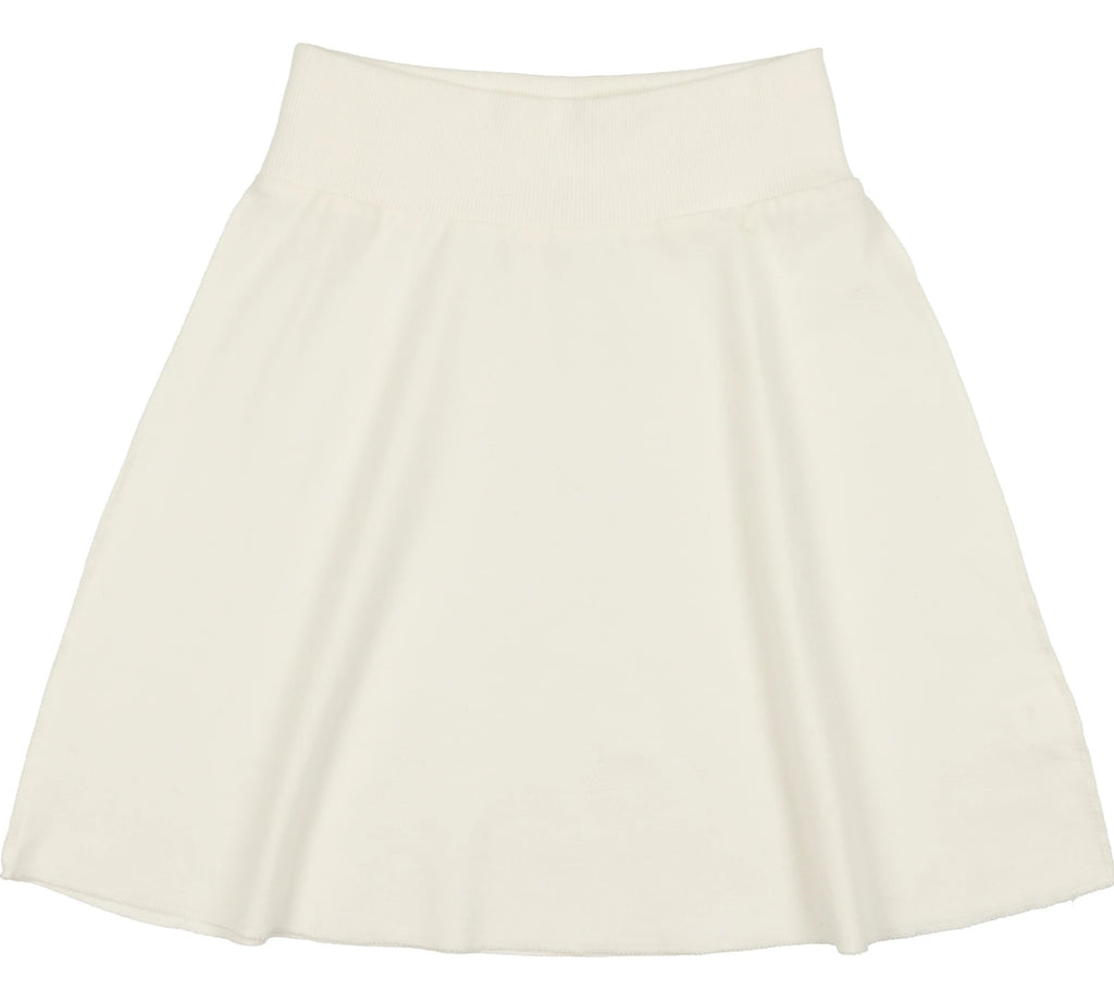 Coco Blanc French Terry Skirt